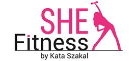 Női fitness - SHE Fitness logó