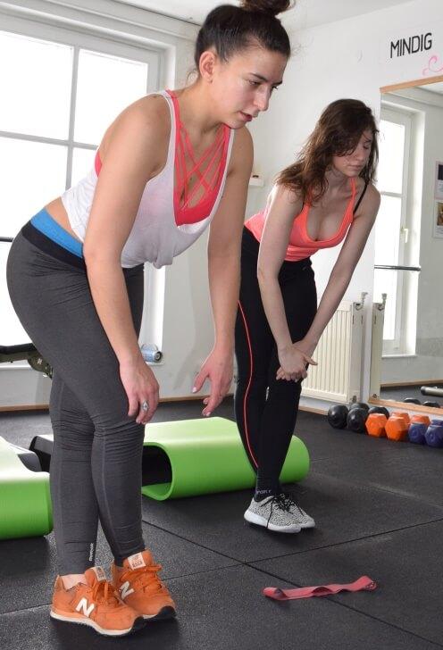 Páros női edzés 3.kerület