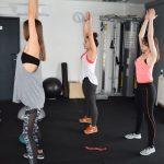 Páros női edzés 11. 13. és 3. kerület