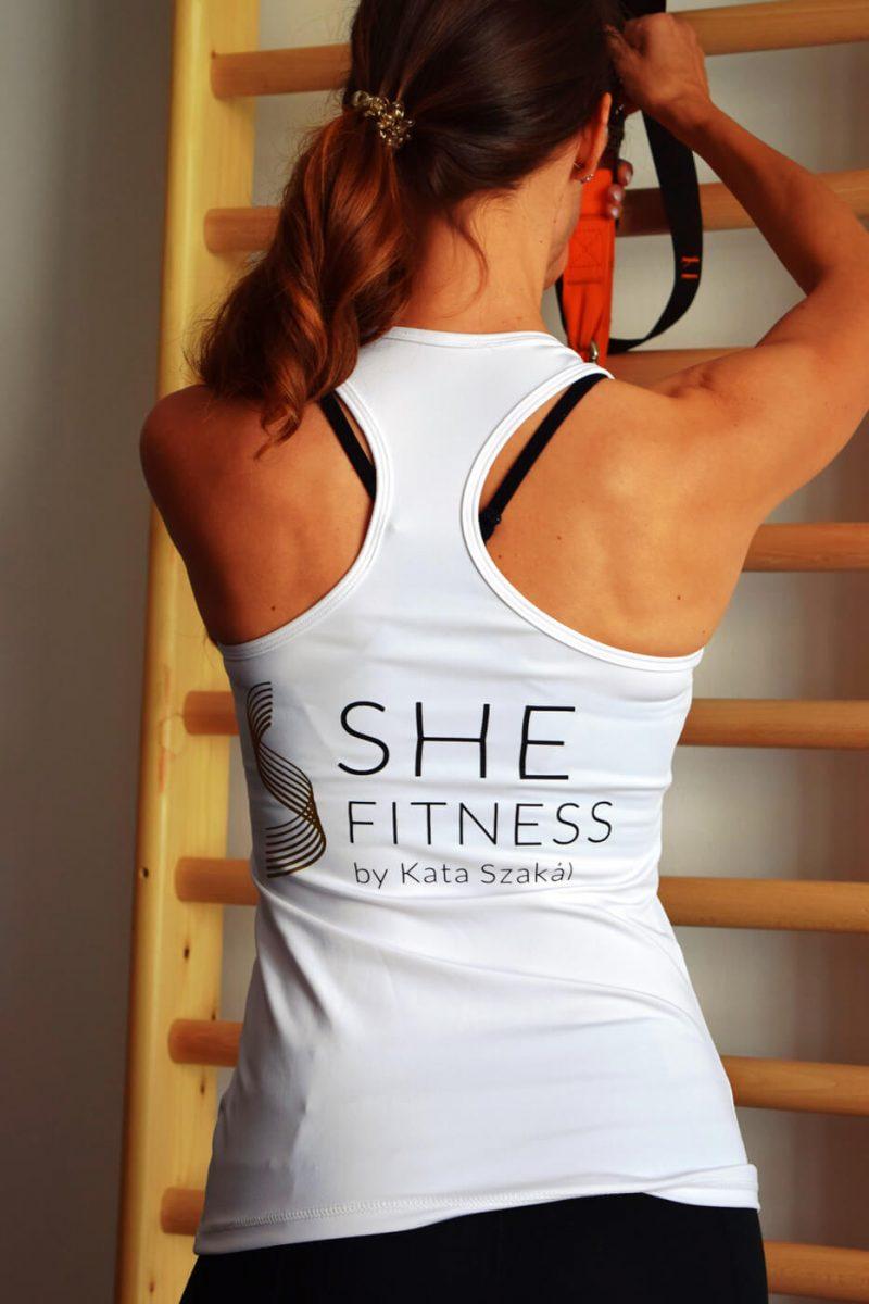 SHE Fitness terem Székesfehérvár Kata